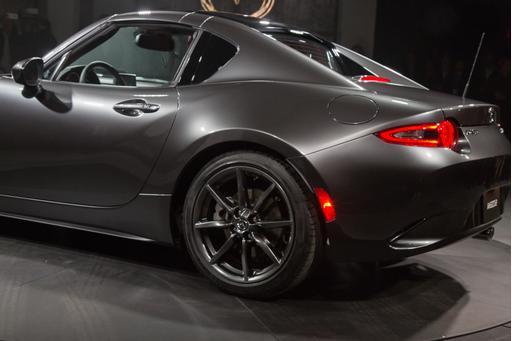2017 Mazda Mx 5 Miata Rf Retractable Hardtop Photo Gallery