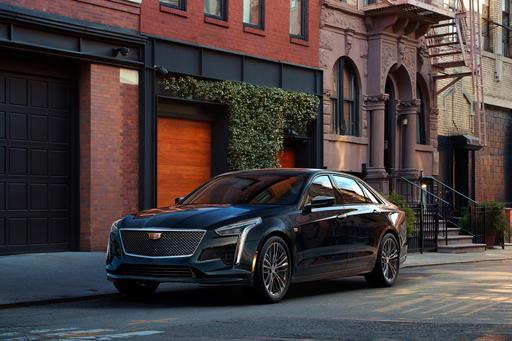 The 2019 Cadillac CT6 V-Sport Is Your New Sleeper Sedan