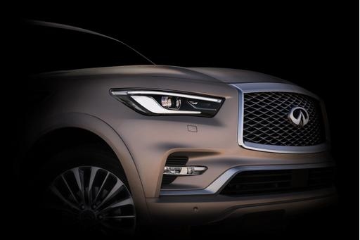 Infiniti QX80 Looks to Get Less Ugly