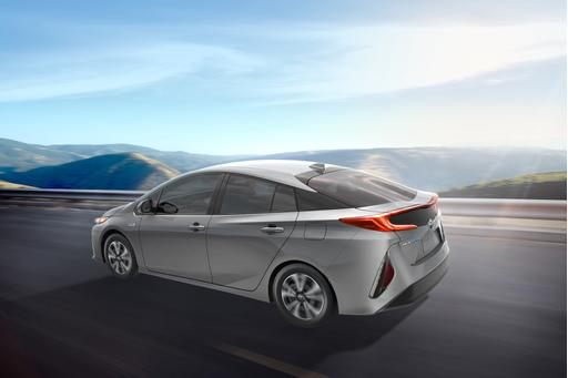 2017 Toyota Prius Prime Plug-In Hybrid Charges into 2016 New York Auto Show