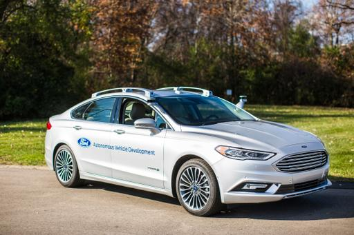 Ford Wagers $1 Billion on the Future of Self-Driving Cars