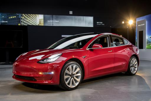 Tesla Model 3 Photo Gallery
