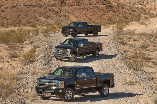 2018 Chevrolet Silverado 3500, Ford F-350, Ram 3500: Which 1-Ton Won?