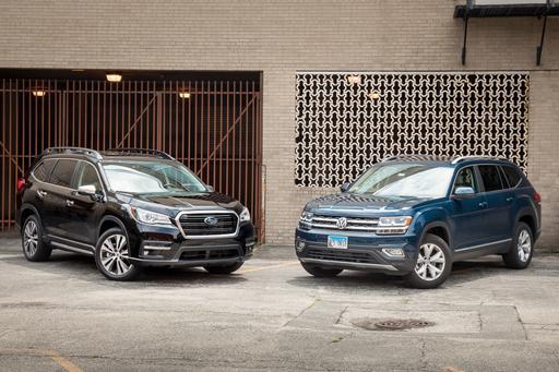 Subaru Ascent Vs. Volkswagen Atlas: The Family (SUV) Feud Begins