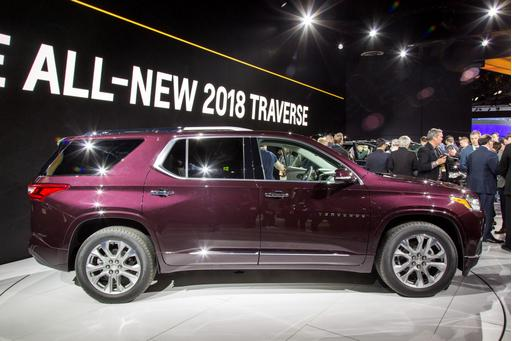 2018 Chevrolet Traverse Review: First Impressions and Photo Gallery