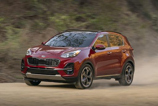 2020 Kia Sportage in Spotlight at Chicago Auto Show