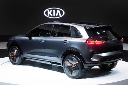 Kia Unveils Niro EV Concept With 238-Mile Range at CES