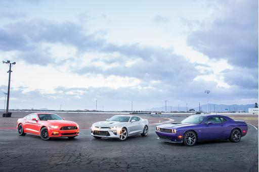 What's the Best V-8 Muscle Car for 2016?