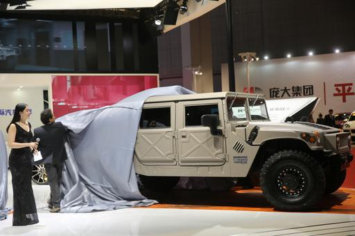 The Hummer H1 Is Back — for China