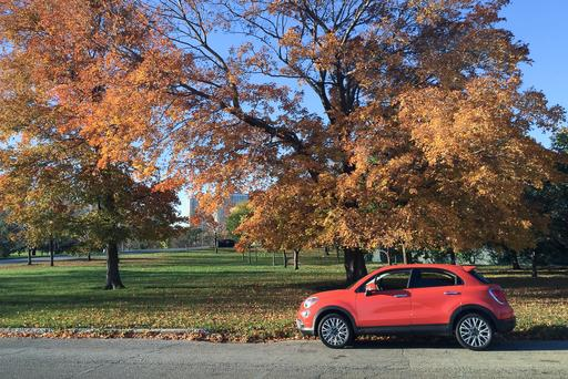 Fall Colors on the Trees and the Cars