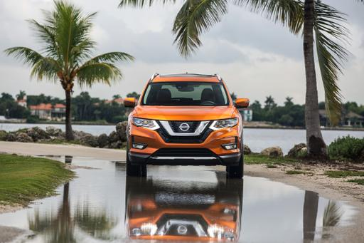 2017.5 Nissan Rogue: What's Changed