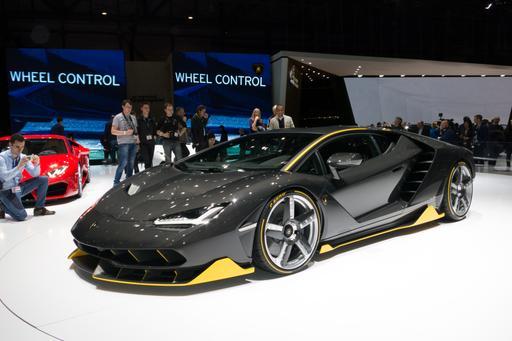 Supercars at the 2016 Geneva International Motor Show