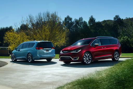 2017 Chrysler Pacifica: First Look