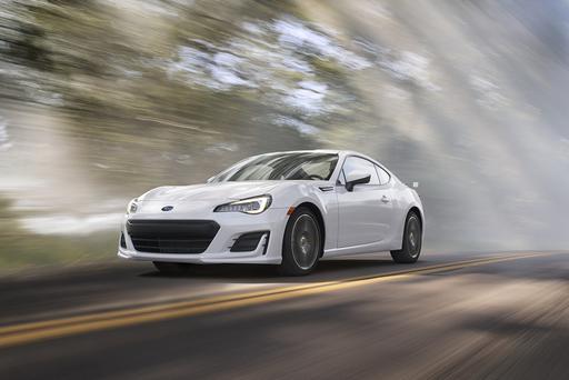 Subaru Updates BRZ for 2017