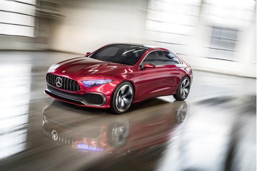 Mercedes-Benz Concept A Sedan Preview