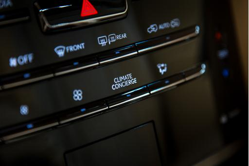 What Does This Button Do in the 2017 Lexus LX 570?