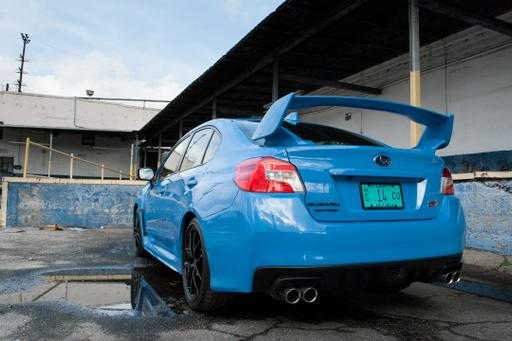 2016 Subaru WRX STI Series.HyperBlue Review: Photo Gallery