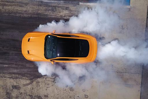 2018 Ford Mustang Gets Standard Burnout Feature