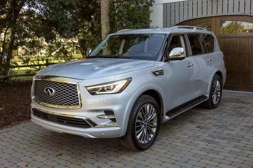 2018 Infiniti QX80 First Drive: Big, Brash, Better Looking