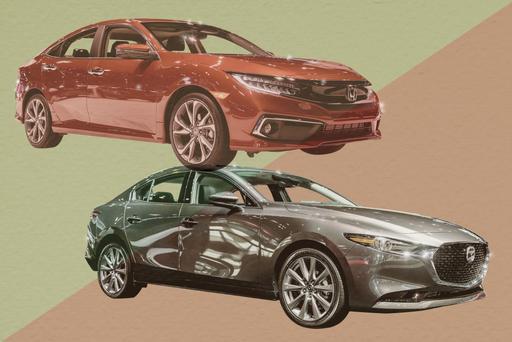 Auto Show Face-Off: 2019 Honda Civic Sedan Vs. 2019 Mazda3 Sedan