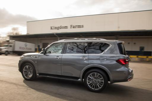 2018 Infiniti QX80: What's the Cost of a Fill-Up?