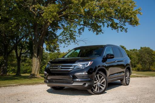 2017 Honda Pilot Review: Photo Gallery