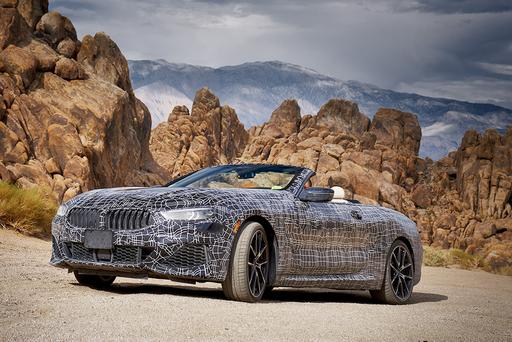 BMW 8 Series 'Vert Undergoes Desert Testing — Can It Take the Heat?