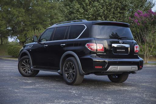 2018 Nissan Armada: Intelligent Rear View Mirror Tested