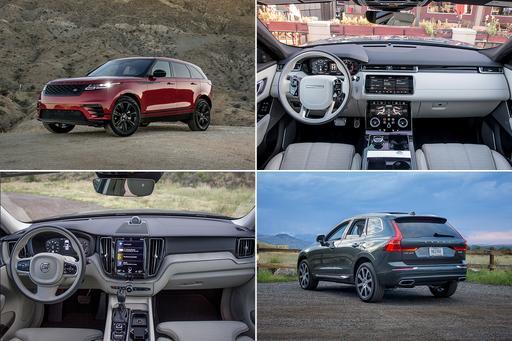 2018 Land Rover Range Rover Velar Vs. Volvo XC60: An Interior Struggle