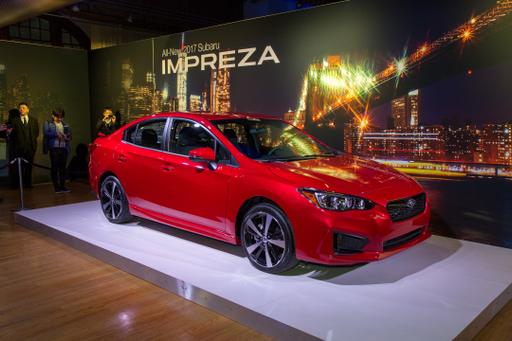 New 2017 Subaru Impreza Adds Trim, Bumps Price