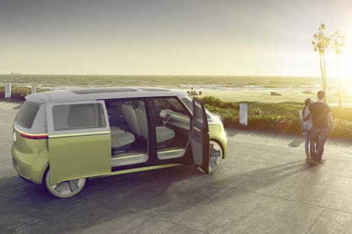 Volkswagen I.D. Buzz Concept Preview