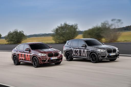 High-Performance M Versions of BMW X3, X4 SUVs Break Cover