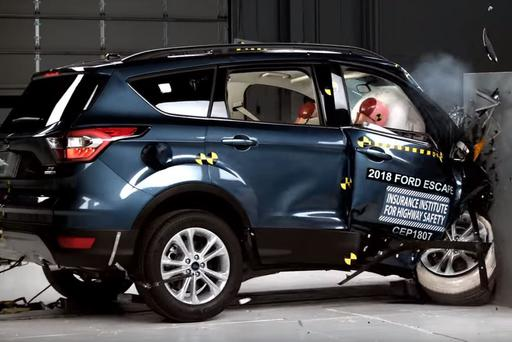 2018 Ford Escape Fails New Crash Test, 5 Other Small SUVs Score Good