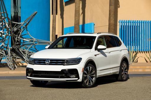 2018 Volkswagen Tiguan R-Line Adds Go-Fast Looks, Little Else