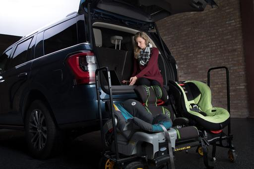 How Do Car Seats Fit in a 2018 Ford Expedition?