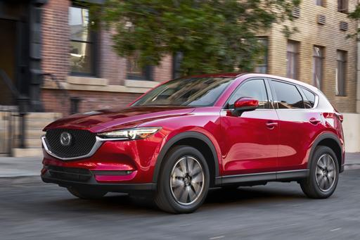 2018 Mazda CX-5 Lights the Way to Top Safety Pick Plus