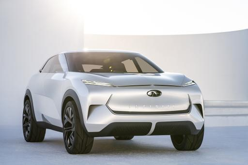 Infiniti QX Inspiration Concept Portends Brand's First Electric SUV