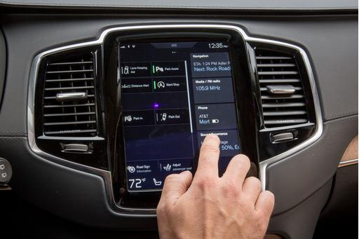 Our Volvo XC90's Touchscreen Takes Its Swede Time