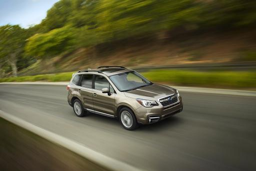 Subaru Updates 2017 Forester's Styling, Safety Features