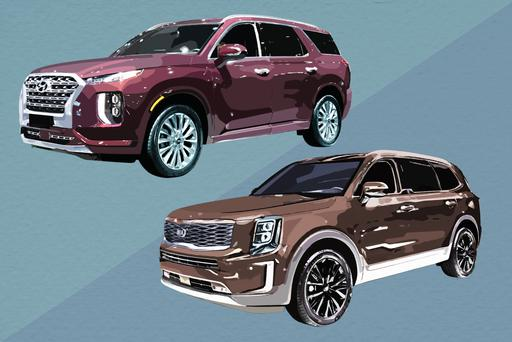 What's the Difference Between the 2020 Hyundai Palisade and 2020 Kia Telluride?