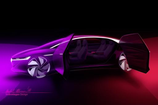 VW Teases 'Vizzion' for the Future Ahead of Geneva