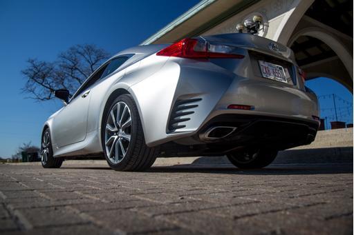 2017 Lexus RC 350 Review: Photo Gallery