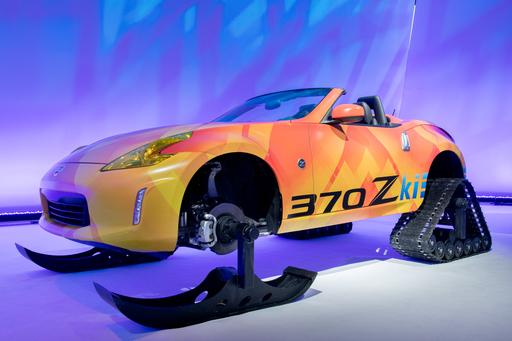 Nissan 370Zki Concept Photo Gallery: Winter Is Coming, Nissan Is Ready