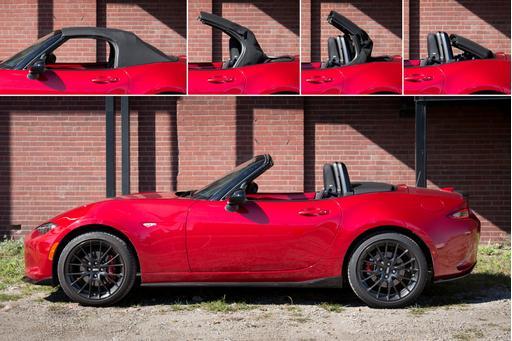 Easy Street: The 2016 Mazda MX-5 Miata's New Top