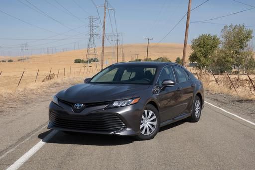 2018 Toyota Camry Hybrid Real-World MPG