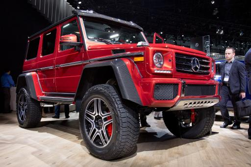 2017 Mercedes-Benz G550 4x4 Squared Review: Photo Gallery