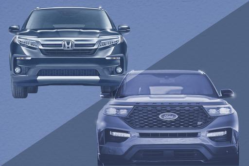 Auto Show Face-Off: 2020 Ford Explorer Vs. 2019 Honda Pilot