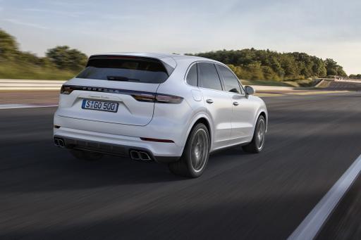Porsche Reveals 2019 Cayenne Turbo in Frankfurt