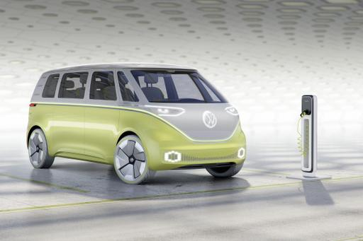 VW Microbus to Return in 2022 as EV