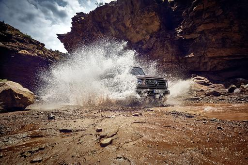 2019 Mercedes-Benz G-Class Makes a Splash With Latest Detroit Teaser